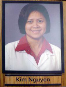 Pharmacist Kim